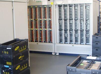 ESD-Fliese-Serverraum